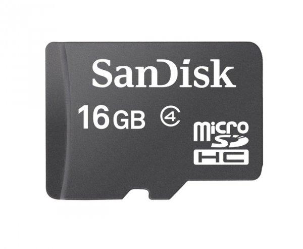 SanDisk 16GB microSDHC