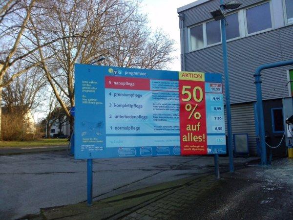 IMO Bochum Herner Str., alles 50%, Autowäsche ab 2,25 € [lokal]