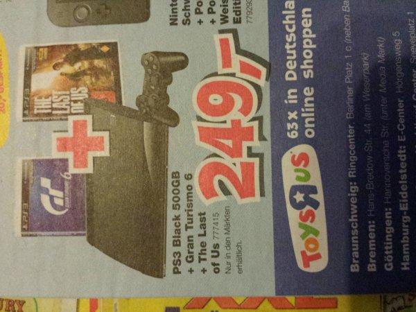 [bundesweit?] ToysRus playstation 3 mit GT6 und The Last of us!
