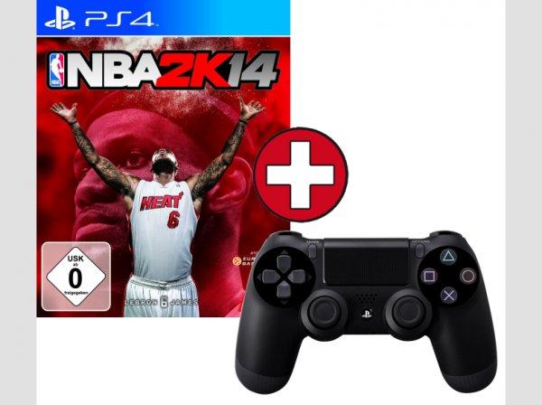[PS4] NBA 2K14 + Dualshock 4 Controller für Playstation 4 [MM Online]