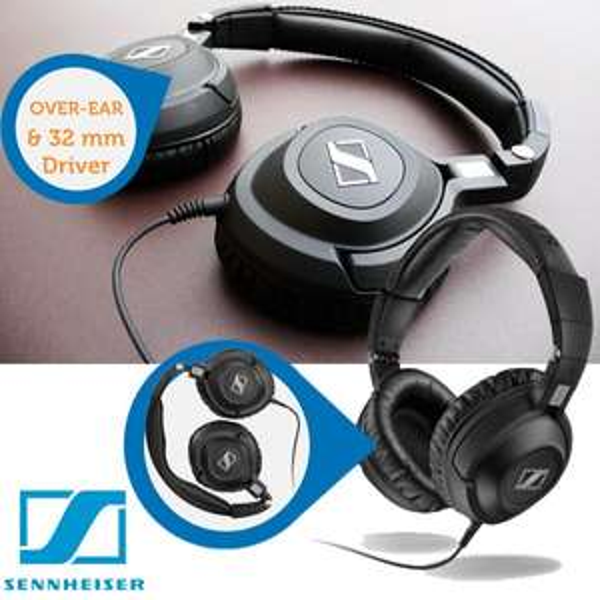 Sennheiser professionelle Studio-Kopfhörer HD-360 PRO @iBOOD
