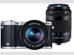 Samsung NX300 Kit 18-55 mm + 50-200 mm @ Media Markt