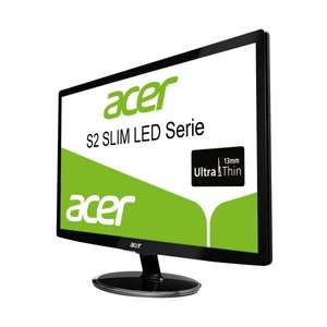 "Acer™ - 24"" LED-Monitor ""S242HLCbid"" (Full HD,VGA,HDMI,DVI,2ms) für €135.- [@Amazon.de]"