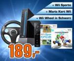 Saturn: Mario Kart Wii Pack (schwarz) für 189 Euro