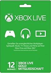 Xbox Live 12 Monate Gold für unglaubliche 15,71€!!! Otto.de für Erstkunden!