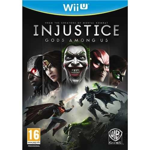 Nintendo Wii U - Injustice: Götter unter uns (Gods Among Us) für €12,48 [@Play.com]