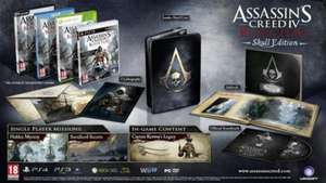 Assassin's Creed 4 IV: Black Flag Skull Edition **Xbox 360 NEU 37,29 VSK Frei