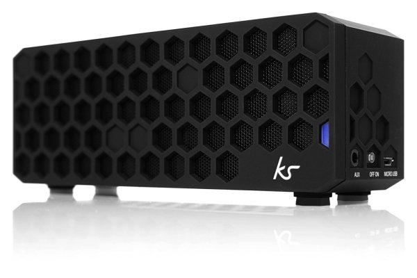 [Amazon.uk] Kitsound Hive Bluetooth Stereo Lautsprecher für Apple iPhone, iPad, Android, schwarz für ca. 65 €  inkl. Vsk