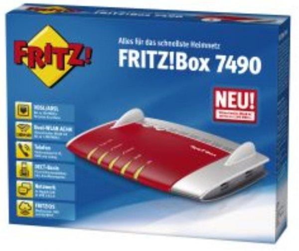 [online] [innova24] FRITZ!Box 7490 für 239,88 Euro bei 0% Online-Finanzierung