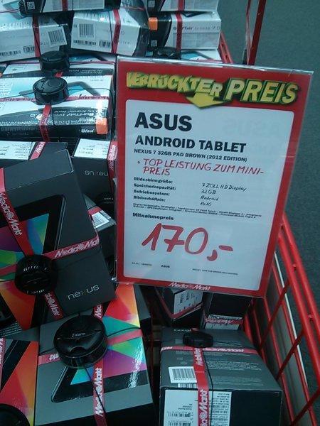 Nexus 7 - 32 GB - Media Markt Ulm (nur Lokal?)
