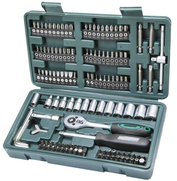 4 Ausgaben c't + 130 teiliges Werkzeugset 11€