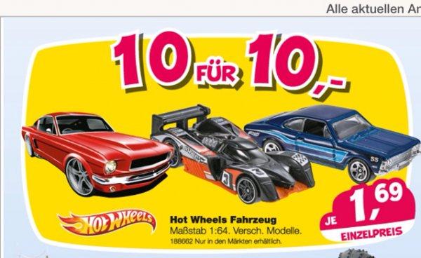 [offline bundesweit?] 10 HotWheels-Autos für 10EUR bei Toys'R'Us