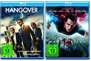 [real.de] Blu-ray Angebote - z.B. Man of Steel; Hangover 1-3; Space Jam; Nightmare on Elm Street für je 6,99 € bei Lieferung in eine Real-Filiale
