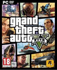 UK: Grand Theft Auto 5, GTA V (PC Version) vorbestellen ca. 31€