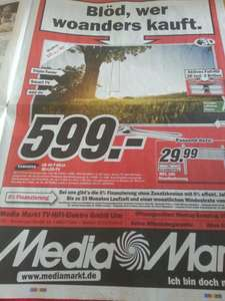 "[Lokal - Ulm] Samsung UE46F6510 46"" TV für 599€"