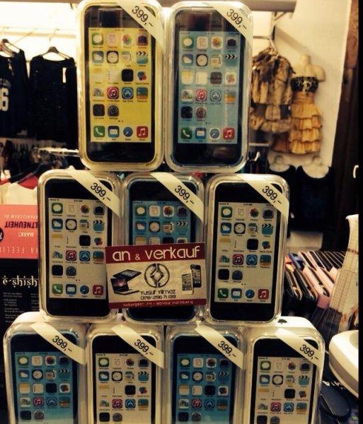 [Lokal NÜRNBERG] Iphone 5c versch. Farben 399€!!!
