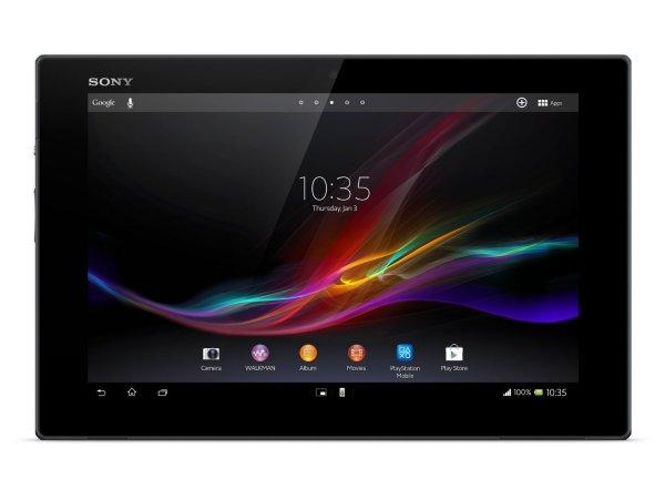 Sony Xperia Tablet Z WiFi 16Gb + Original Abdeckung aus echtem Leder + Tabletständer,docking station