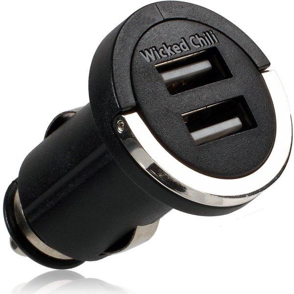 Ab 18Uhr bei Amazon: Wicked Chili Dual Schnellader Kfz-Ladegerät Adapter für 10,99 Euro