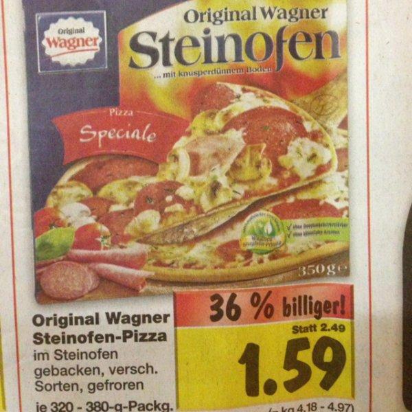 [Kaufland][Lokal Heilbronn?] Wagner Steinofen Pizza für 1,59€