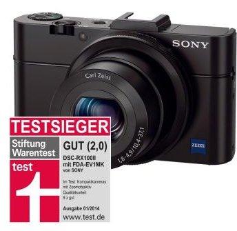 Sony Cyber-shot DSC-RX100 Mark II + Sony LCJ-RXC Tasche @Cyberport.de