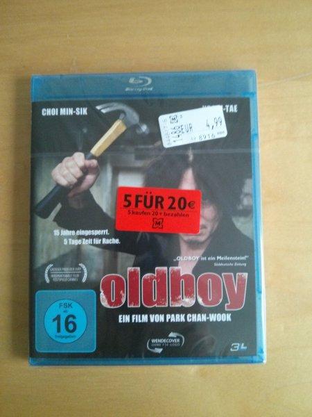 Oldboy Bluray bei Müller