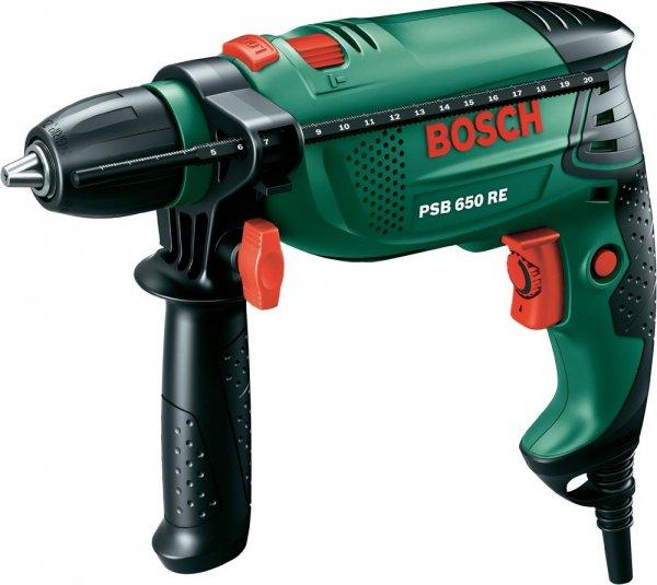 Preisreduzierung von Bosch PSB 650 RE Grün Schlagbohrmaschine ab 64,04€ @ Amazon, Wagner, Voelkner usw.