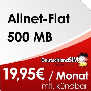 Jetzt bei Amazon: DeutschlandSIM Flat S im Vodafone-Netz  - nur 4,95€