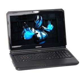 "MEDION ERAZER X6825 MD98327 Gamer Notebook 39,6cm(15,6"")/Core i7/16GB/128GB SSD/GTX680M/Full-HD"