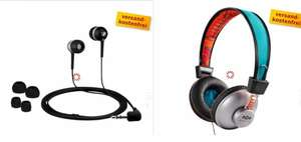 Marley EM-JH010-SU = 25 € und Sennheiser CX 300 = 26 € @Media Markt