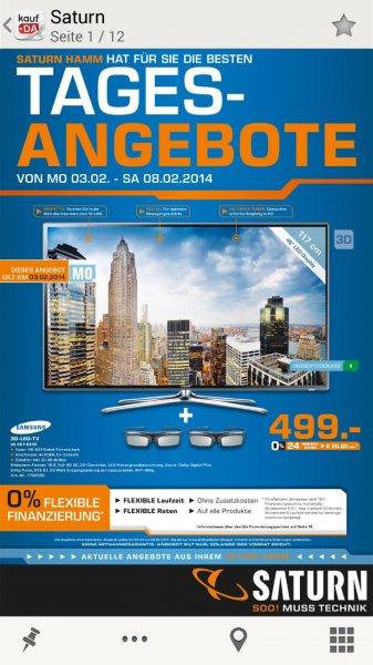 Samsung Led-Fernseher Ue46F6340 nächste Woche im Saturn, Hamm für nur 499 €