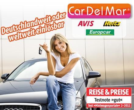 """[ProSiebenProducts] Mit dem Gutscheincode """"pro7_cardelmar"""" 15% auf den CarDelMar Deal sparen! Für 50€ Gutschein nur 16,15€ zahlen."""