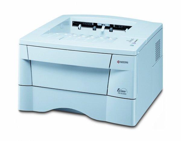 Kyocera FS-1030D Duplex, inkl. Druckerkabel & Toner bei Amazon Zustand: Gebraucht - Sehr gut
