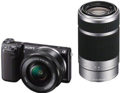 Sony Nex 5 TYB Systemkamera SEL-P1650 + SEL-55210 (Amazon.fr)