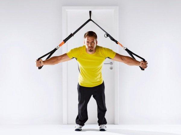 [Lidl - online und ggf. lokal] Fitness: Schlingentrainer mit DVD und Türanker für 24.94 € (inkl. Versand)
