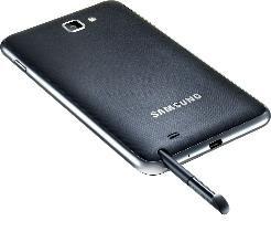 Samsung Galaxy Note N7000 Phablet Smartphone blue für  264.95 € @DC (B-Ware)