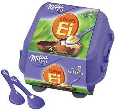 [Real Heidenheim] Milka Eier beide Sorten