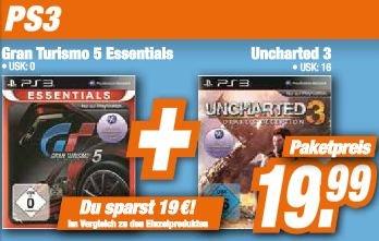 [Expert Klein] -Lokal- Uncharted 3 und GT 5 für PS3  zum Preis von 19,99 €