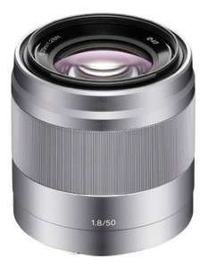 Sony E Objektiv 50 mm f1.8 OSS (SEL-50F18) für 210,68 € @Amazon.co.uk
