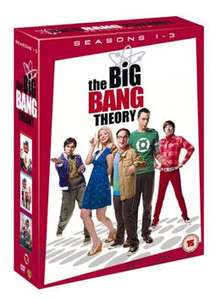 The Big Bang Theorie 1-3 [DVD] für rund 18 Euro @ zavvi.com