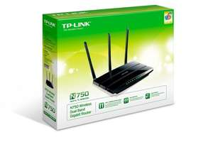 "TP-Link™ - Simultan Dual-Band Gigabit Router ""TL-WDR4300"" für €49,90 [@Amazon.de]"