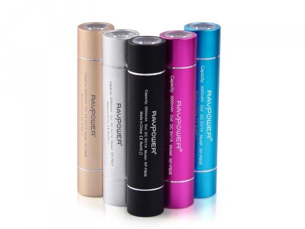 Valentinstag: 3 Euro Gutscheincode für RAVPower ® 3000 mAh Powerbank in 5 unterschiedlichen Farben