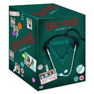 Scrubs - Seasons 1-8 Complete Box Set  [DVD] für ~45,50€ @ zavvi.com