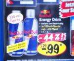 Red Bull 0,33l für 0,99€ nur heute bei LIDL