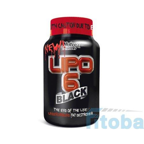 Nutrex Lipo-6 Black Fatburner für 31,95€ statt 40,90€