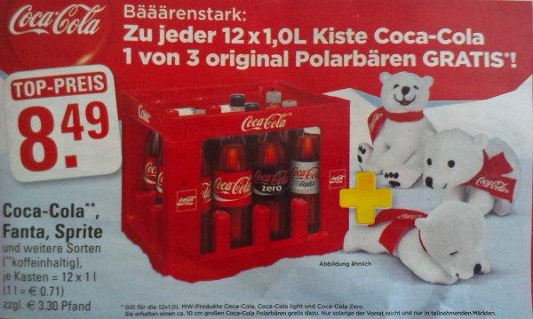 [lokal Köln] Coca-Cola mit einem GRATIS Polarbären Edeka