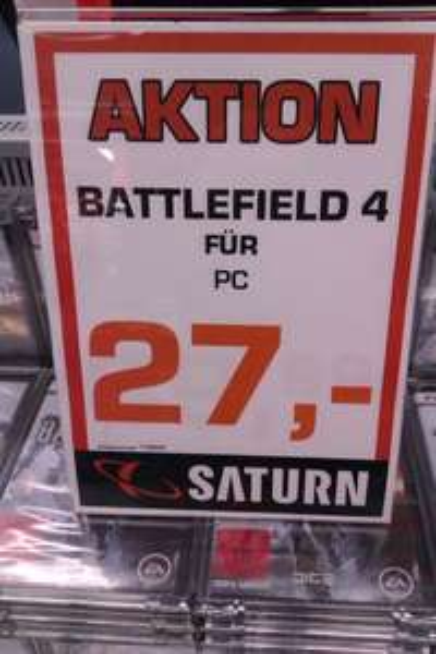 [lokal Berlin] Battlefield 4 für PC - 27€