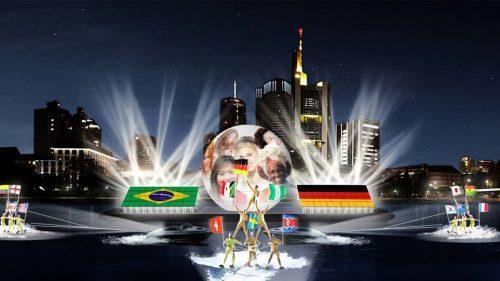 Eröffnungsfeier der FIFA Frauen-WM Fanmeile Frankfurt