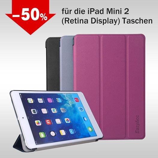 Gutscheincode @ EasyAcc: 50% auf alle iPad Mini 2 Taschen