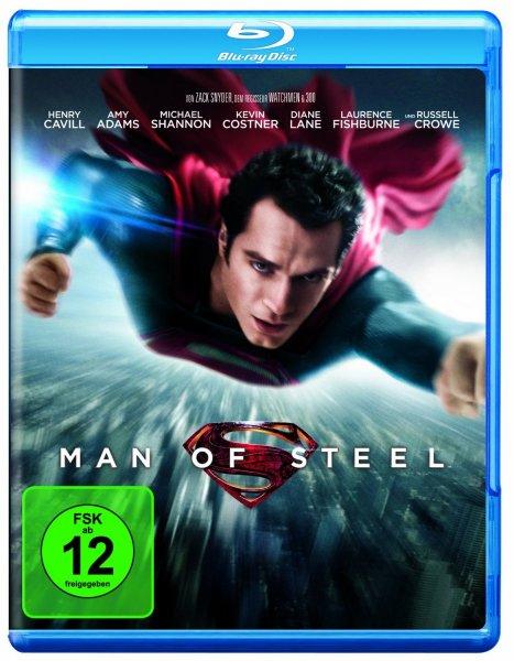 Man of Steel [Blu-Ray] für 8,97€ @Amazon.de