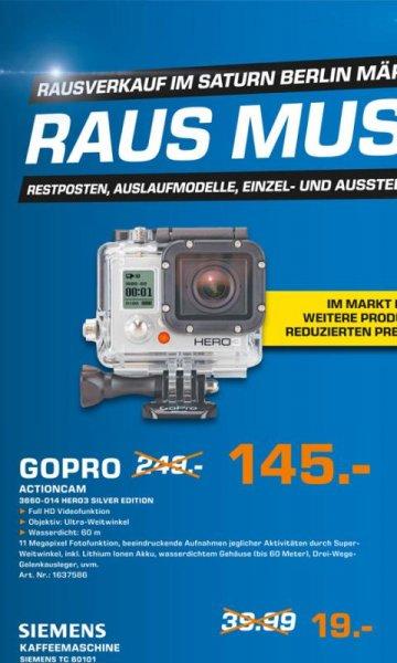 GoPro Hero3 Silber - Saturn Märkische Zeile in Berlin